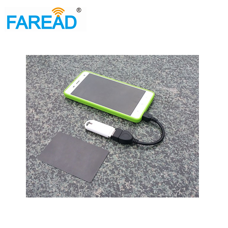 FREE SHIPPING NO driver RFID mobile phone PC reader ISO11784/85 EM4305,HITAGS256,T5577 chip tag