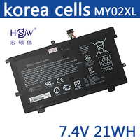 HSW 7.4V 21Wh 2860mAh MY02XL Keyboard Battery for HP SlateBook X2 10 H010NR/H000SA 721896 1C1 MY02XL HSTNN DB5C HQ TRE