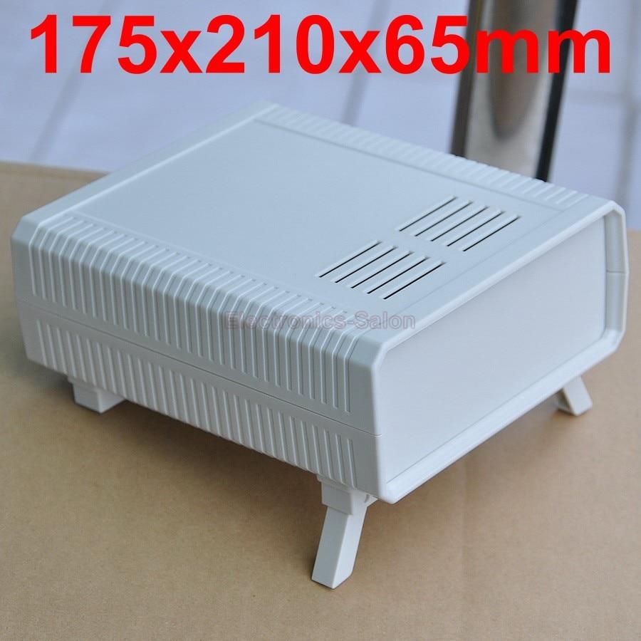 HQ Instrumentation ABS Project Enclosure Box Case,White, 175x210x65mm.