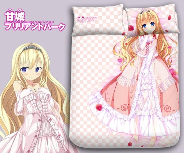 одеяло park lane - Hobby Express Latifa Fleuranza - Amagi Brilliant Park Japanese  Bed Blanket or Duvet Cover 2