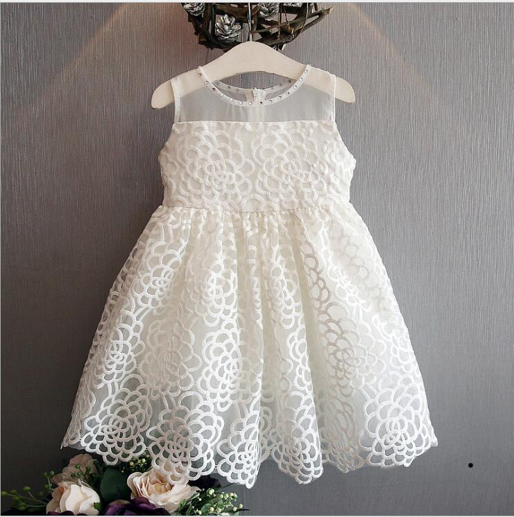 Simply Styles Sleeveless Kids Toddler Girls Lace Dress
