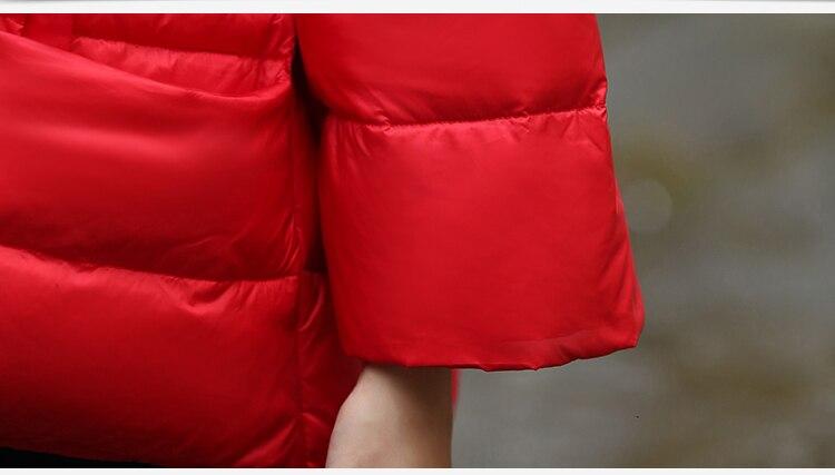 Rouge Lâche Vers Le Nouvelle Bas Grande Mme 2018 Court Veste Loisirs Taille BXzwExq