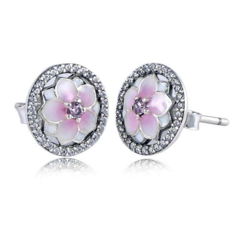Orchid Trellis New Diamontrigue Jewelry: 100% 925 Sterling Silver Europe And The United States New