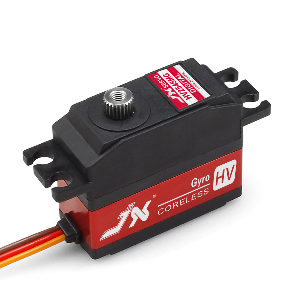 JX Servo/PDI - HV2545MG 25 g/metal teeth high-voltage digital lock tail Servo jx pdi 6221mg 20kg large torque digital standard servo for rc model