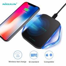 Nillkin cargador inalámbrico rápido Original, 10W, para Samsung Galaxy Note 10 10 + S10 plus S9 S8 S7, iPhone Xs Max, Xiaomi 9