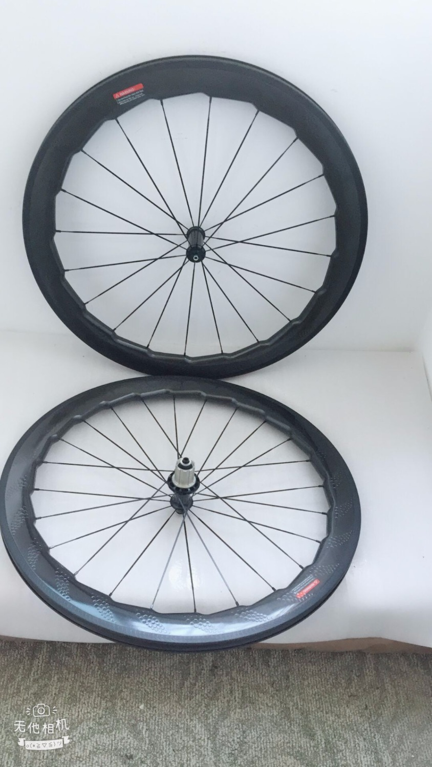 Newest bicycle carbon wheels  2018 style  58mm dimples surface V brakes 25mm width road bike wheels with ceramic bearing hubs mountain bike four perlin disc hubs 32 holes high quality lightweight flexible rotation bicycle hubs bzh002