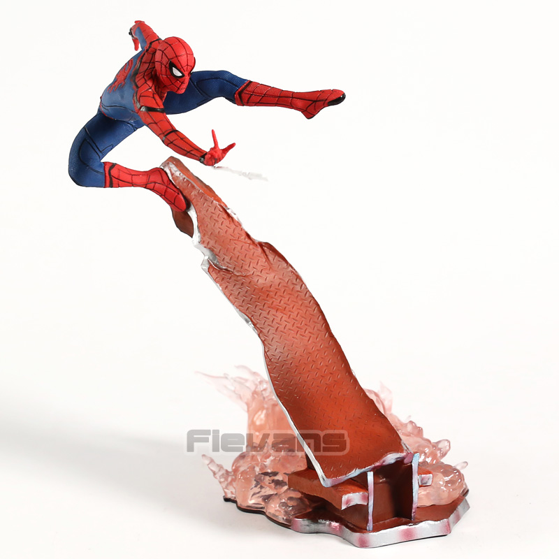 Marvel Spiderman Homecoming Spider-Man 1/10 Scale PVC Figure Statue Collectible Model Toy