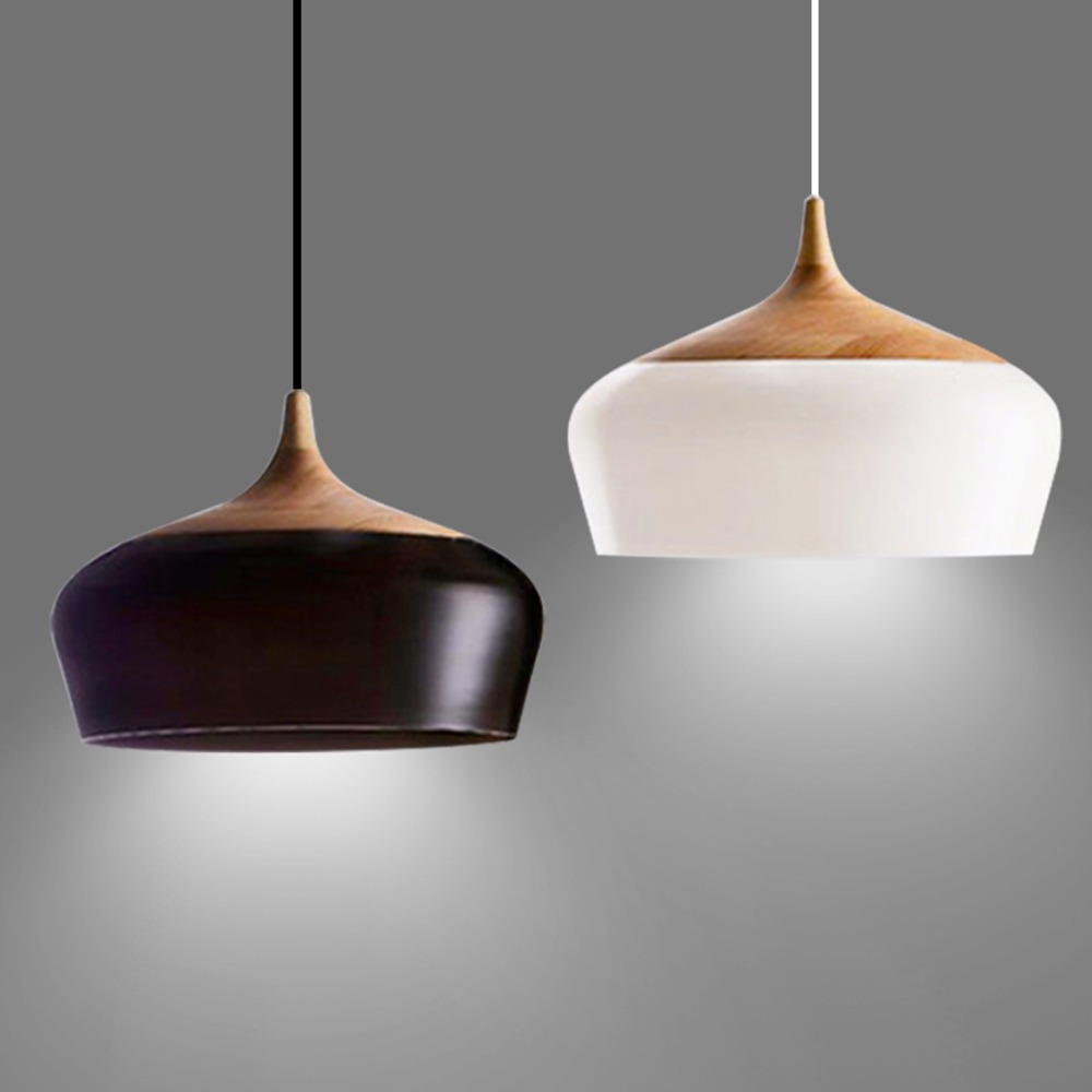 nordic brief pendant light novelty belly pendant lamps engraved wood aluminum hanging lamp loft. Black Bedroom Furniture Sets. Home Design Ideas