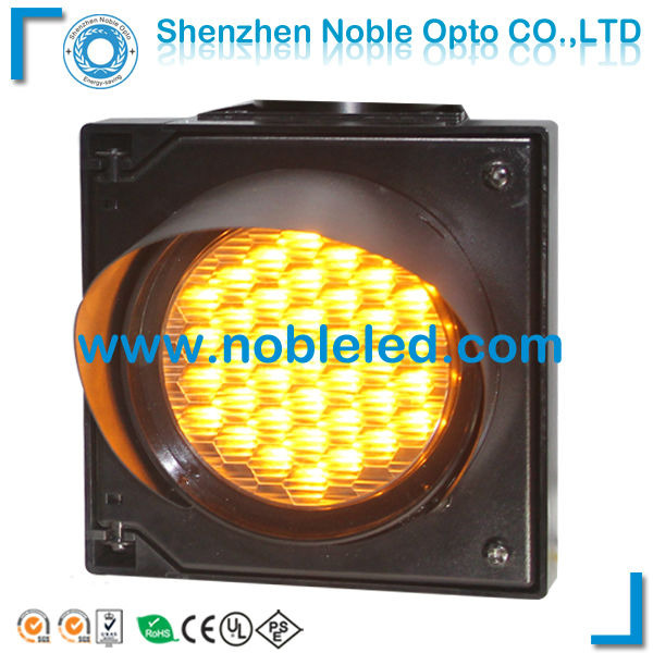 4 inch mini 37LEDs amber color traffic light lamp IP65