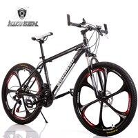 Mountain Bike Aluminum Mountain Bike 21 Speed Bicycle 26 Inch Variable Speed Mountain Bike Dual Disc