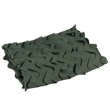 3M*5M Pure Green Military Camouflage Net Hunting Military Camouflage Net Outdoor Bird Photography Green Military Camouflage Net