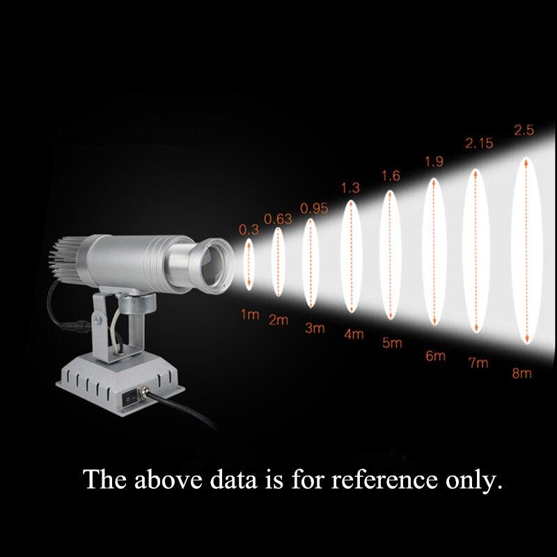 LED publicité Gobo projecteur Gobo Logo projecteur publicité panneau 15 W 20 W 30 W