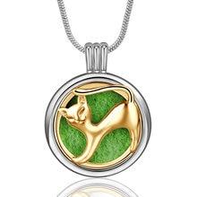 Женское Ожерелье Ювелирные изделия из нержавеющей стали круглый