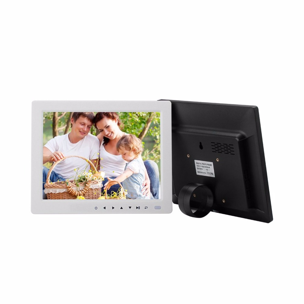 10 hd tft lcd digital picture photo slideshow album frame alarm 10 hd tft lcd digital picture photo slideshow album frame alarm clock music video player with desktop stand bracket in digital photo frames from consumer jeuxipadfo Image collections