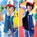 Wholesale New Fashion Hot Children Cosplay Pokemon Ash Ketchum Trainer Costume Shirt Jackets No Hat