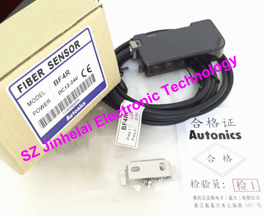 BF4R  AUTONICS New and original  FIBER SENSOR  DC12-24V otto nicks autonics optical fiber sensor bf3rx original genuine
