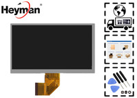 Heyman 7 Size LCD Display Screen 7 1024 600 164 97 Mm 50 Pin For Ployer
