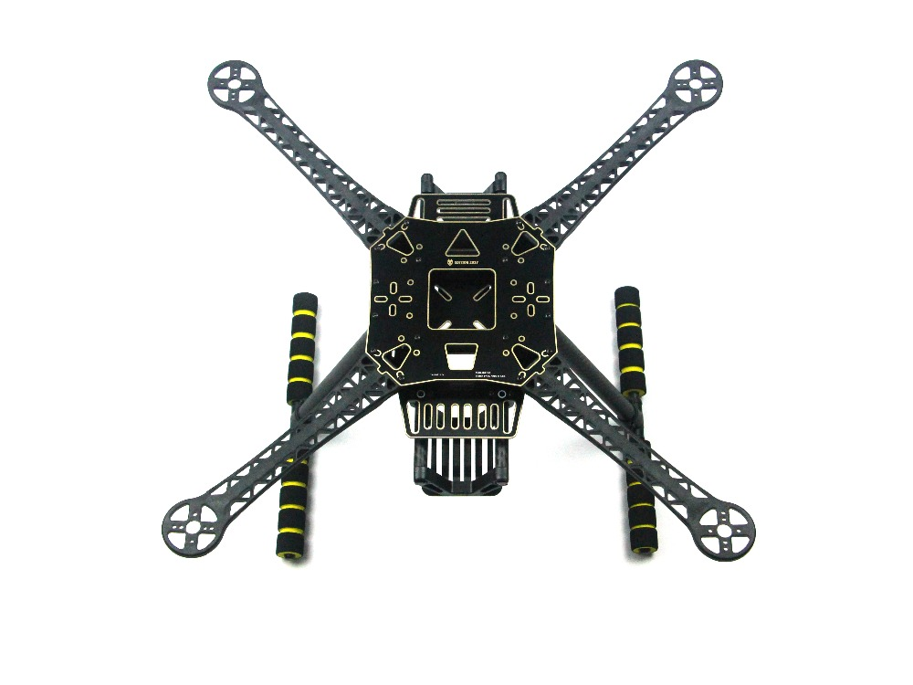 JMT S520 S600 Super Hard Arm 4 Axis Rack Quadcopter Frame Kit with Landing Gear Skid