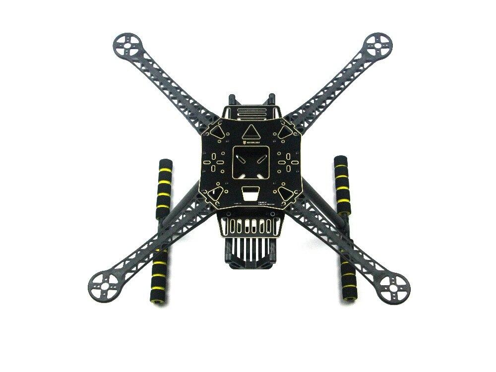 JMT S520 S600 Super Dur Bras 4-Axe Rack Quadcopter Cadre Kit avec Train D'atterrissage Dérapage F450 Cadre Amélioré pour FPV Drone F19456