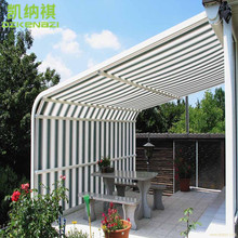 280 gsm Waterproof Polyester fabrics for making Rough Selvedge finish of Awnings / Shower Curtain