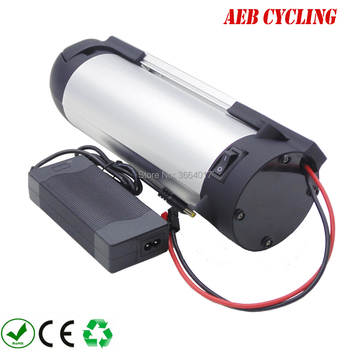 Free Shipping Lithium Ion Battery For Fat Tire Electric Bike Bottle Down Tube 48V 12.8Ah Lithium-ion Ebike Battery With Charger