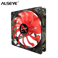 купить CL-120R Chassis fan Case 12 cmn LED red Computer case cooling Crab leg 120mm 3 pin thermal solution fan cooler PC fan DC по цене 611.78 рублей