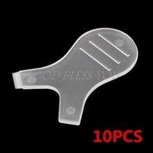 Pestañas postizas de silicona, 10 Uds., rizador de elevación, cepillo injerto para extensión de pestañas, herramienta para triangulación de envíos
