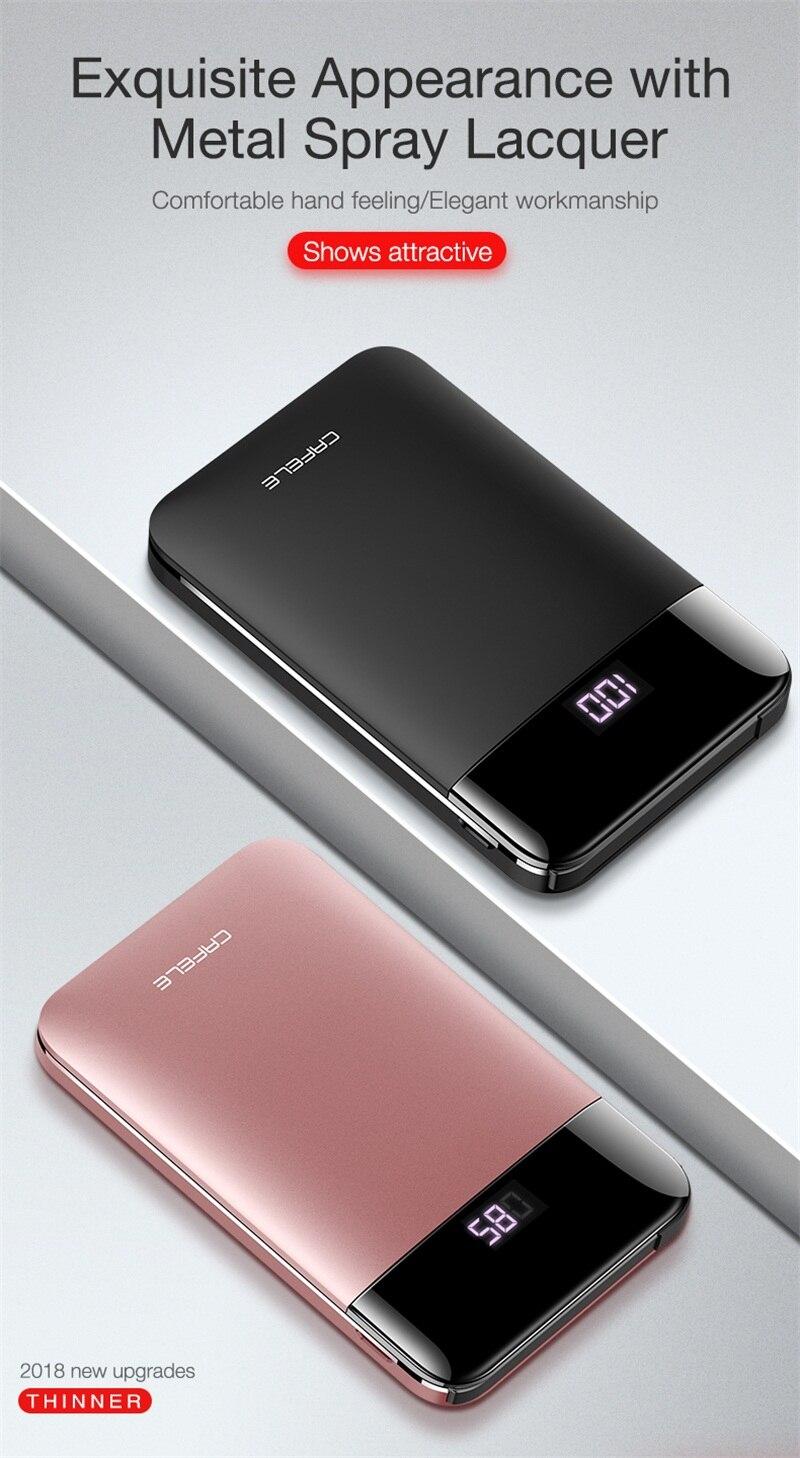 3.Portable External Battery Charging