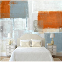 Custom Wallpaper By Sqft Sale Width And Height Calculation Modern Simple Abstract Art Oil Paintings Graffiti