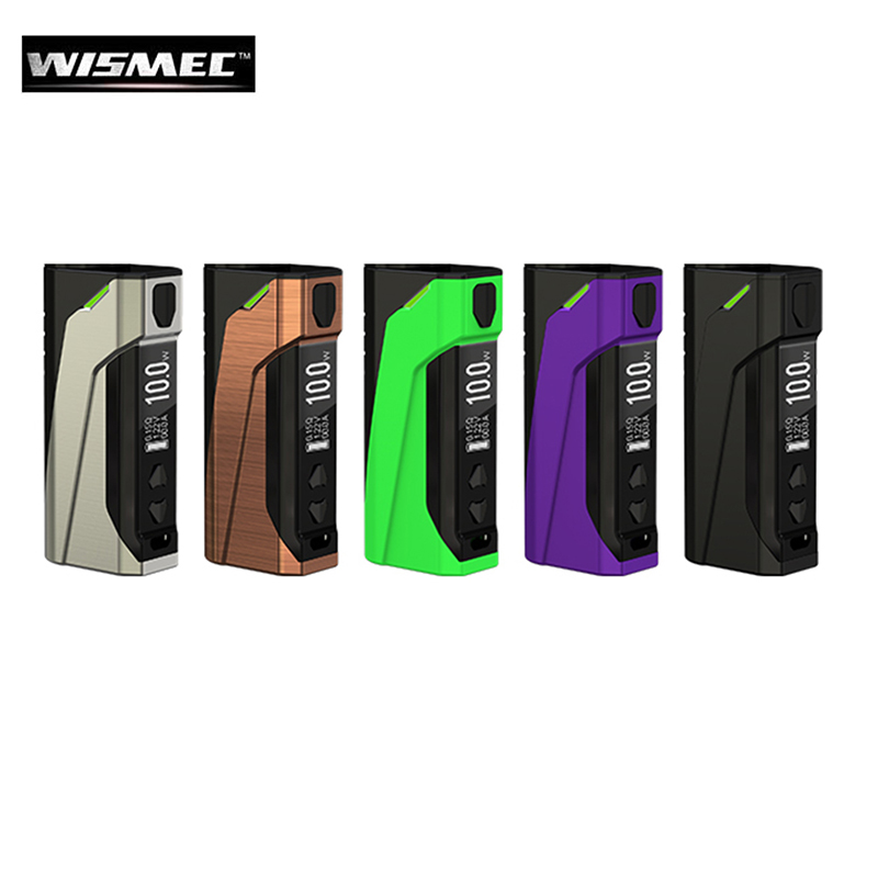 Original Wismec CB-60 60W CB-60 Box MOD 2300mAh Battery CB 60 Electronic Cigarette Vape MTL Vaping Fit for Amor NS Tank simple pu leather and lace up design sneakers for women