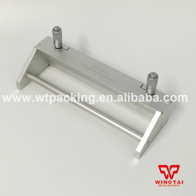 Adjustable Wet Film Applicator Paint Wet Film Applicators Aluminium Silver Film Applicator (0-5000micron ) BGD209/4 цена