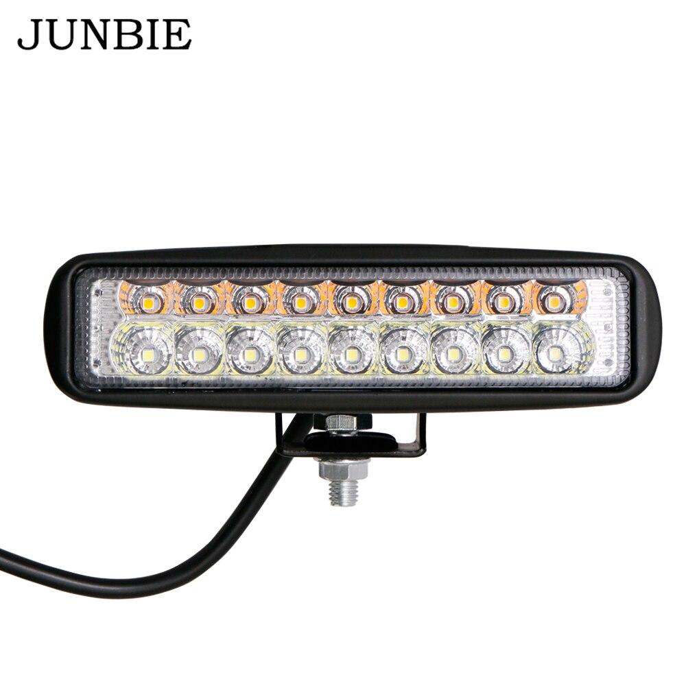 Junbie 54w Drl Led Flood Work Light Worklight 10 60v 12 Volt Lights Road