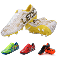 LEOCI Cheaper Soccer Football Shoes Unisex Outdoor Original Football Boots Shoes For Adult Children's Chuteiras Botas De Futbol