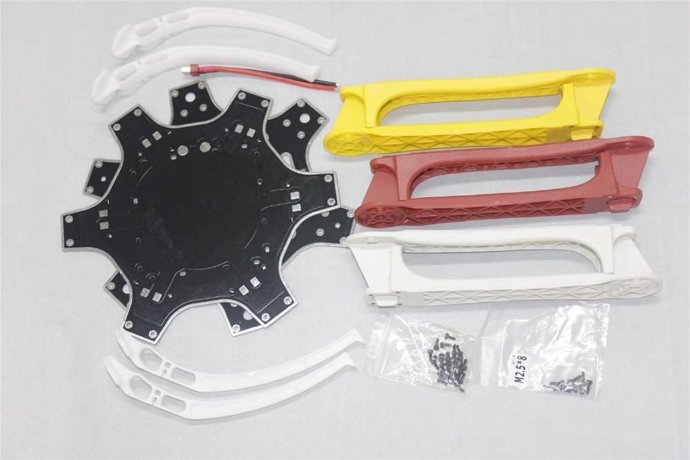 ФОТО F07468-A Drone F550 Hexa-Rotor Air Frame FlameWheel Kit 550mm + High Landing Gear + T Plug Male Connector + FS