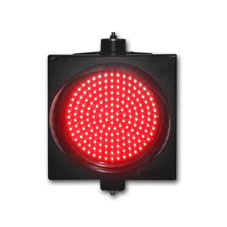 High quality New design single light 300mm red color LED traffic signal light