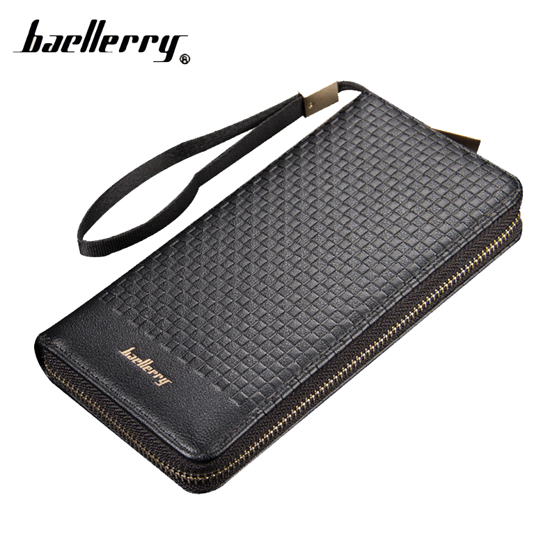Zipper Long Phone Clutch Handy Men Women Purse Wallet Female Male Cuzdan Kashelek Portomonee Partmone Klachi Money Bag Wristlet