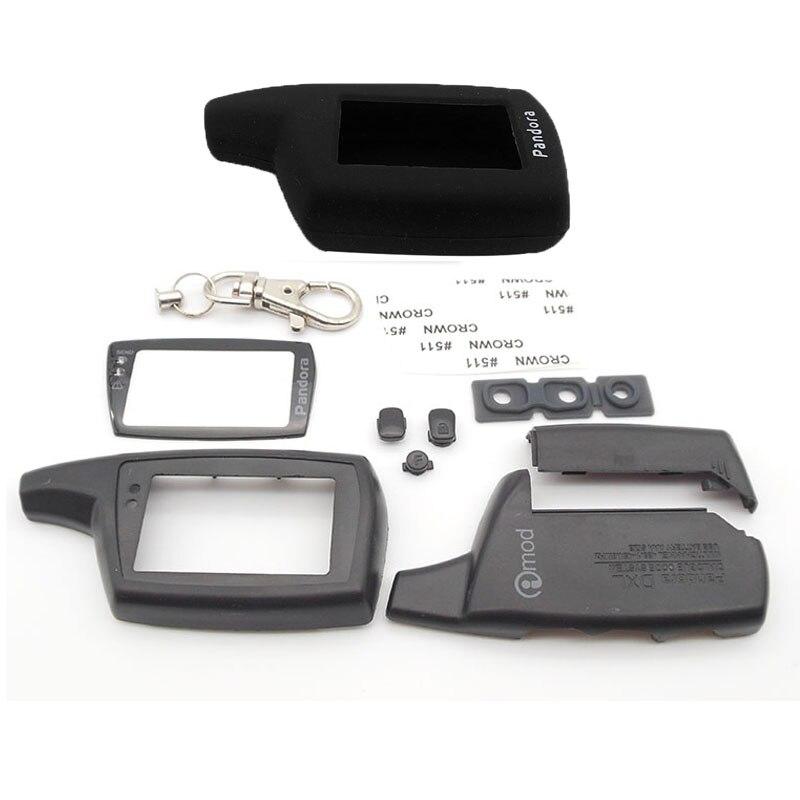 Лидер продаж, чехол DXL3000, брелок + DXL3000, силиконовый чехол для Pandora DXL3000, ЖК-дисплей, двусторонний пульт дистанционного управления автомобилем,...