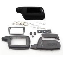 Hot vender caso chaveiro + DXL3000 DXL3000 silicone caso para Pandora DXL3000 Lcd controle remoto em dois sentidos do carro frete grátis