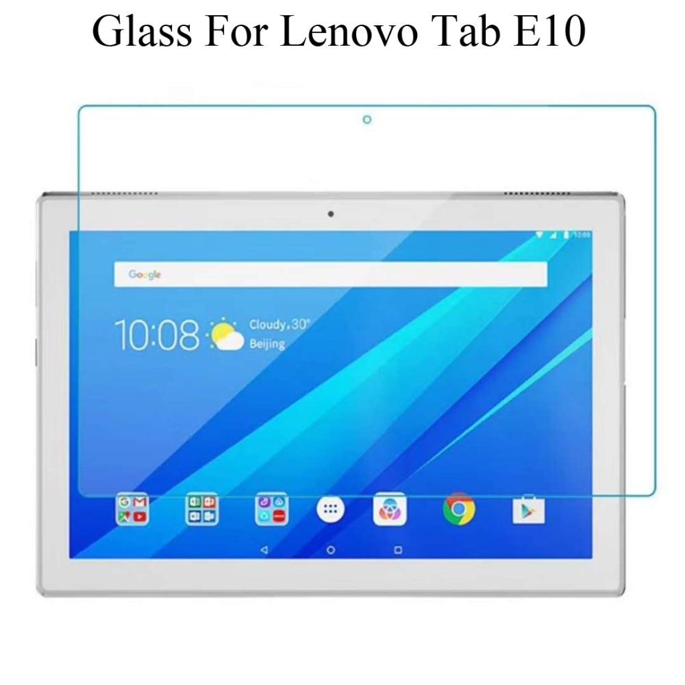 "9H Tempered Glass Screen Protector Guard Film For 10.1/"" Lenovo Tab E10"