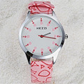 kezzi brand 2017 new stylish students watch analog display girls fashion casual watches leather strap elegance wristwatch k1118