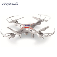 Abbyfrank 2 4G RC Helicopter Drone With Camera 2MP HD Remote Control Helicopter X5C 4CH 6