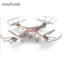 Abbyfrank 2.4 г вертолет Drone с камерой 2MP HD Пульт дистанционного управления вертолетом X5C 4CH 6 оси гироскоп Quadcopter Дрон RC игрушка в подарок