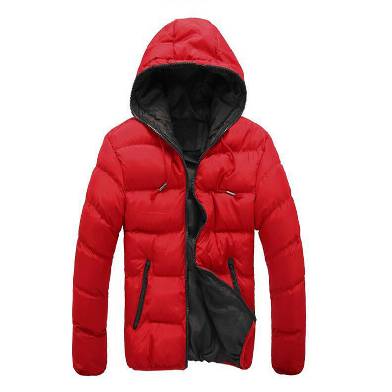 Men 'S Camouflage Winter down Jacket Cotton Clothes 2019 Amazon Foreign Trade Cross-Border New Style Winter Warm Solid Color Cot(China)