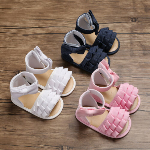Summer Sandals Baby Boys Girls Infant Soft Crib Shoes Cute Shoes Sandals