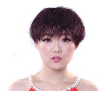 100% Virgin Brazilian Hair Bob Wigs 7A unprocessed Human brazilian silky natural straight Hair Wigs Bob for black women