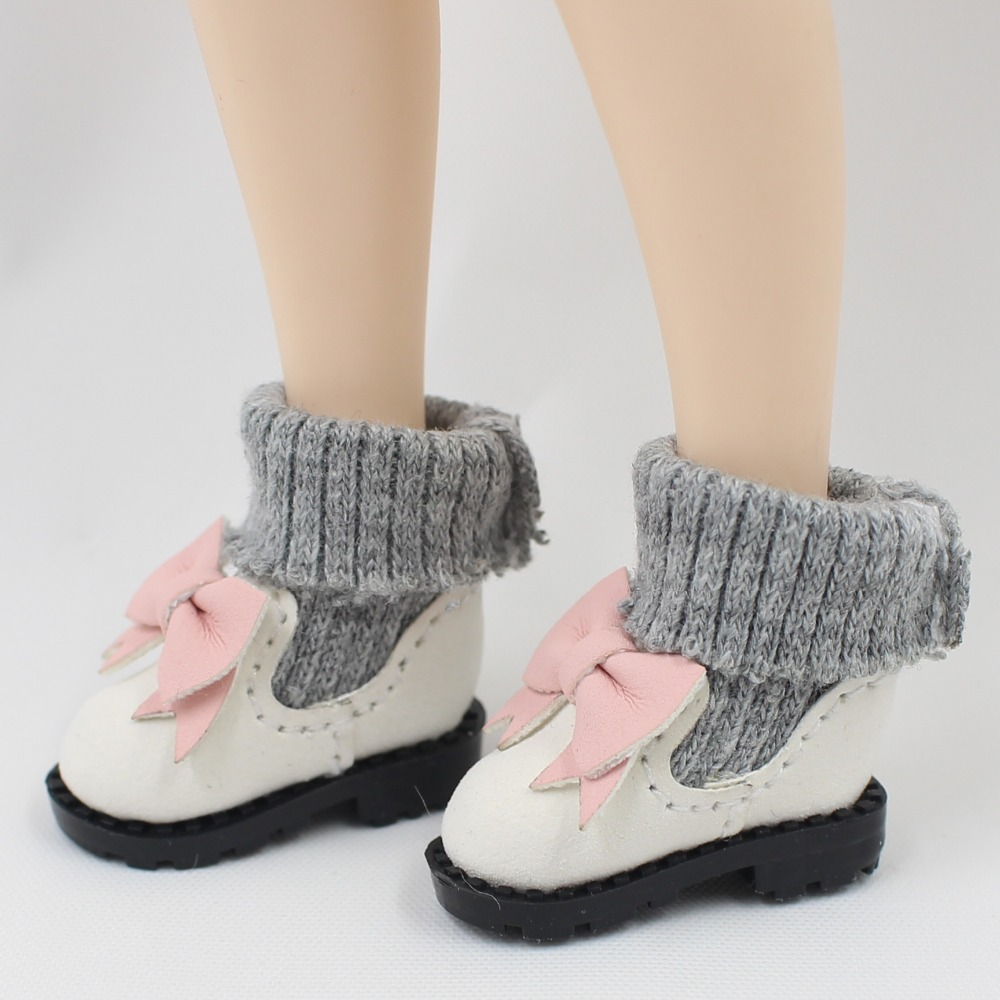 Neo Blythe Doll Bowknot Shoes 4