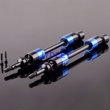 RVO288E06 Summit Front Rear Steel CVD Driveshafts Axles For 1/10 Traxxas RC Car цены онлайн
