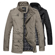 2017 Winter jacket men hot sale man jacket large 5XL casual trench winter coat autumn thick