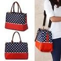Dot Large Allis Baby Nappy Changing Bag Travel Shopping Bag Set Mummy Shoulder Handbag Stroller Diaper