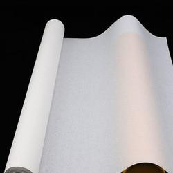 Nowy 46 cm * 20 m biały chiński papier ryżowy papier XUAN do Ariist malarstwo kaligrafia papiery promocja